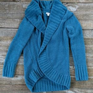 Merona chenille open cardigan sweater